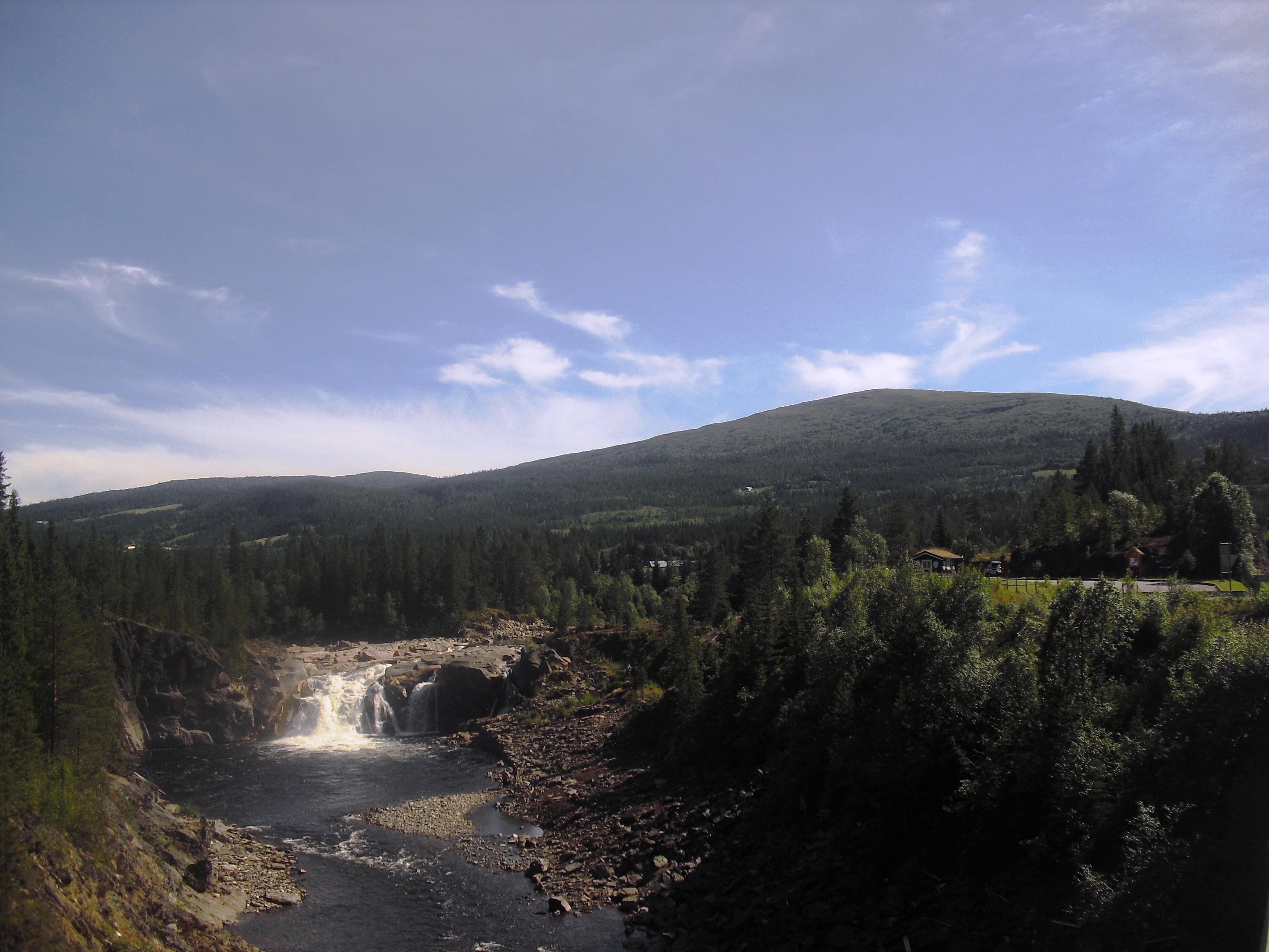 Hyttfossen i Ålen