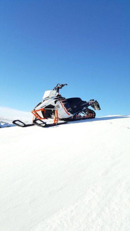 Snøscooter (Foto: Hans Inge Aasen)