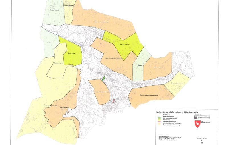 Kartlegging og verdisetting av friluftsområder i Holtålen kommune – Høringsfrist 14. august 2017