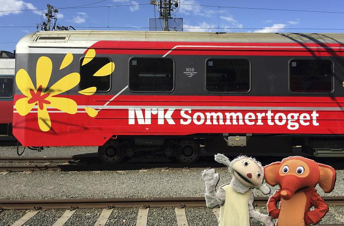 Sommertoget kommer til Holtålen!