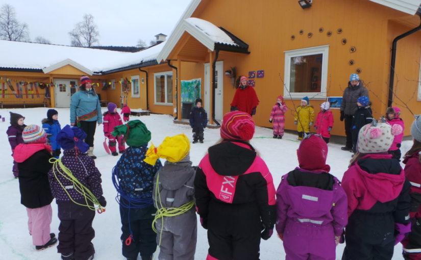 Elvland barnehage feiret samefolkets dag