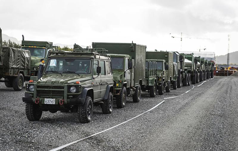 Informasjon om militær trafikk