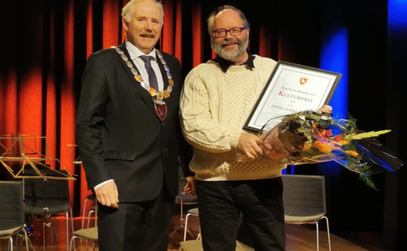 Kulturpris 2019 tildelt Einar Gjærevold