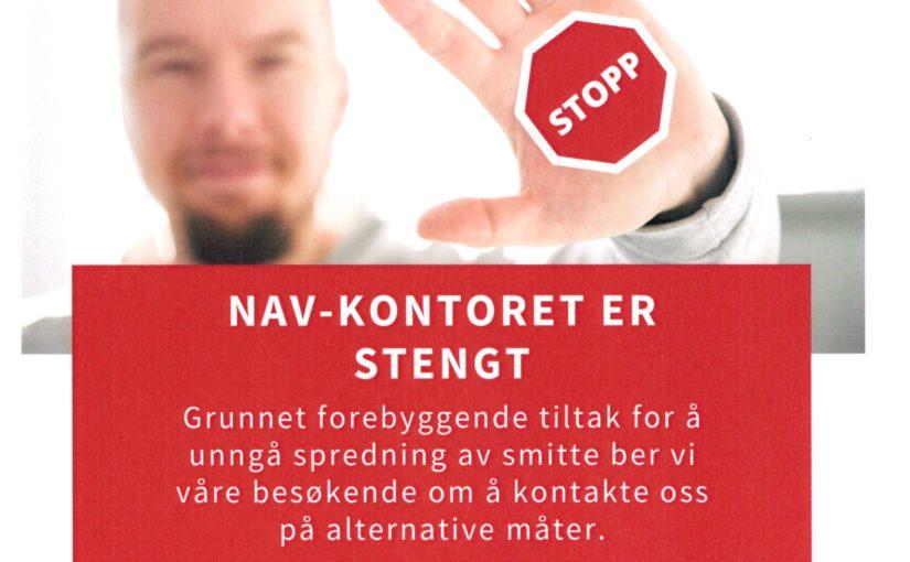 Info ang. koronavirus – NAV