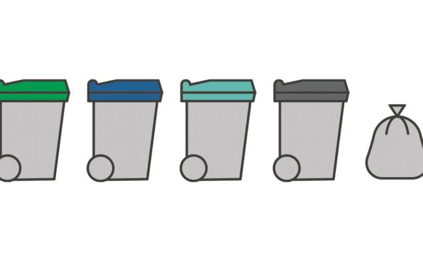Status utlevering av avfallsdunker