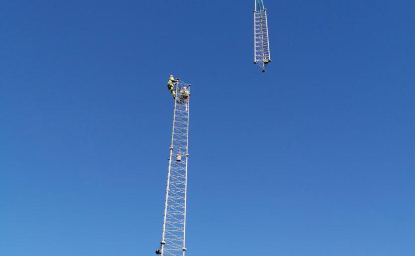 Mobiltelefonimast på Skarvan – status