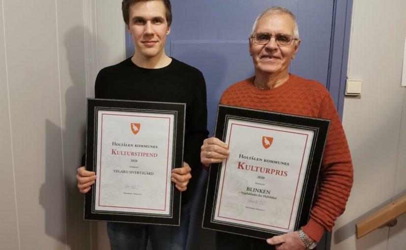 Vi gratulerer prisvinnerne