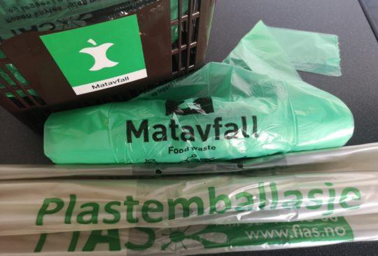Nye matavfallsposer med nasjonal merkeordning